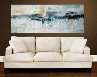Art Painting wall art large painting abstract por jolinaanthony