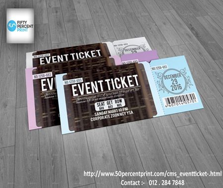 Event+Tickets+Printing+|+Printing+Malaysia+|+50percent+print+:+Event+ticket+the+pass+to+a+successful+happening.+Organising+a+concert?+Doing+an+event+talk+show?+I'm+sure+we+all+need+to+be+on+a+certain+level+of+professionalism+to+convince+some+audience+or+crowd+to+your+event.+Click+in+to+fifty+percent+print,+we+provide+you+what+you+need,+ticket+with+a+perforate+line+,+numbering+and+turning+the+ticket+into+a+book+to+make+it+easier+for+you.+We+supply+low+volume+printing+as+well+as+bulk+printing