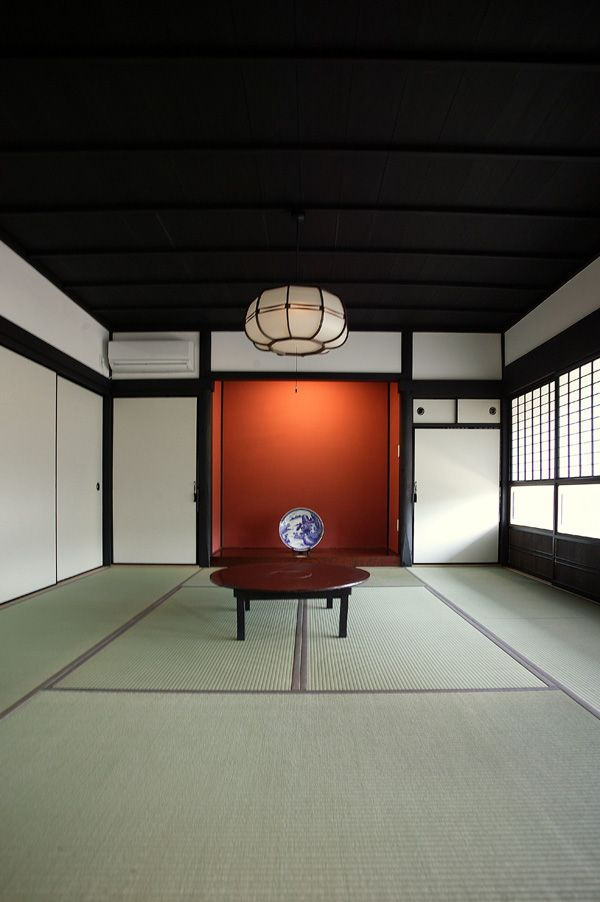 日本家屋、和室、畳み/Traditional Japanese room, washitsu
