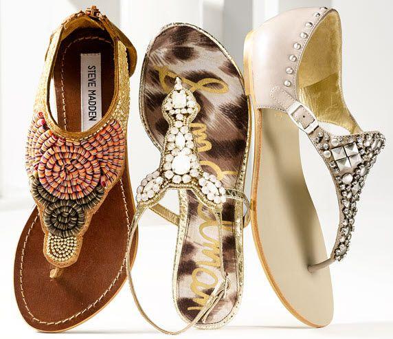 Steve Madden 'Pharroh' sandal Sam Edelman's 'Ross' sandal and the Joan &  David 'Kaycia' sandal