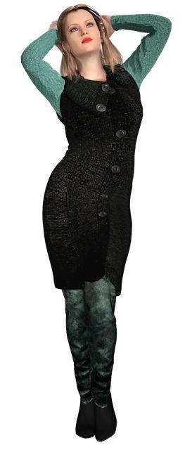 Ravelry: Mouwloos vest pattern by Maralyn 2016