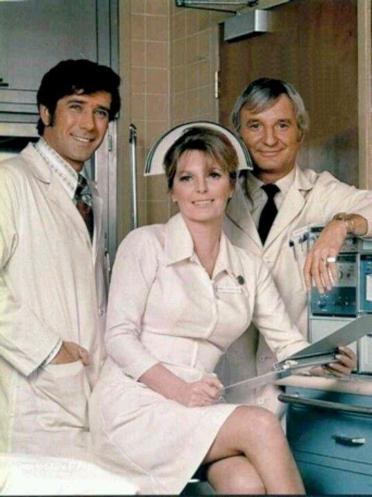 Robert Fuller, Julie London & her real-life husband Bobby Troup in Emergency! (1972-77, NBC)