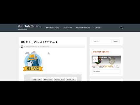 HMA! Pro VPN 4 1 125 Serial Key Free Download | serialfull | Desktop