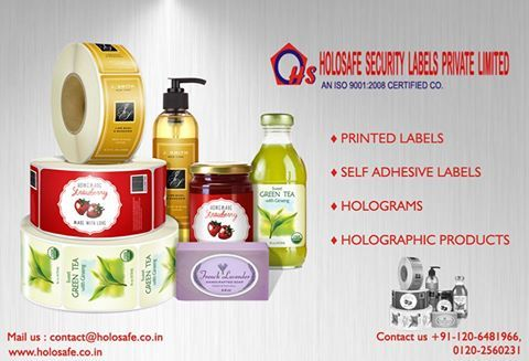 The pharmaceutical labels are customized according to the client's specific requirements and are either self adhesive or wet glue type.