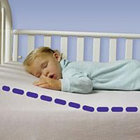 Dex Baby Safe Lift Universal Crib Wedge Cushion