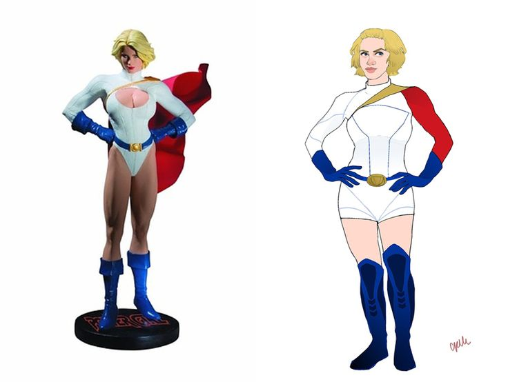 12 Lady Superhero Costumes Redesigned By Ladies --- yes, yes a thousand times yes!!