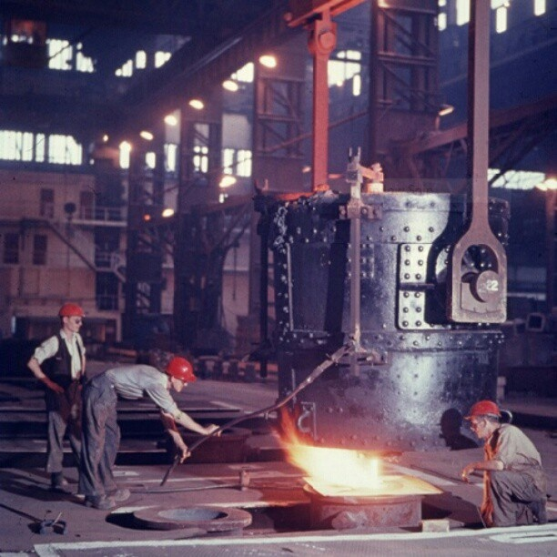 Sheffield steel (Atlas works firth brown) 1960's #sheffieldrelics #socialsheffield #sheffield