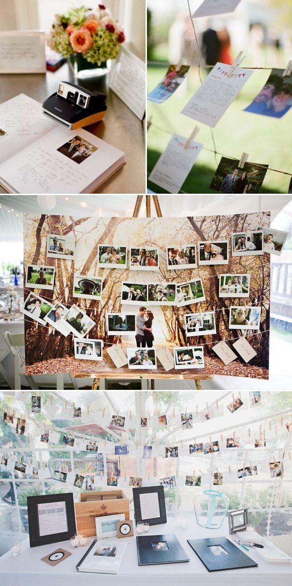 28 Creative Guestbooks Ideas - Photo Ideas