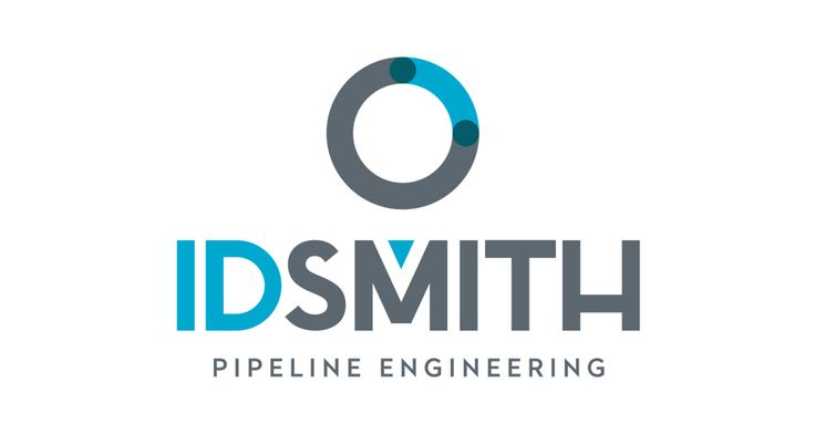 New #branding #design project for IDSMITH #pipeline #engineering firm.  #logo #blue #grey #brand
