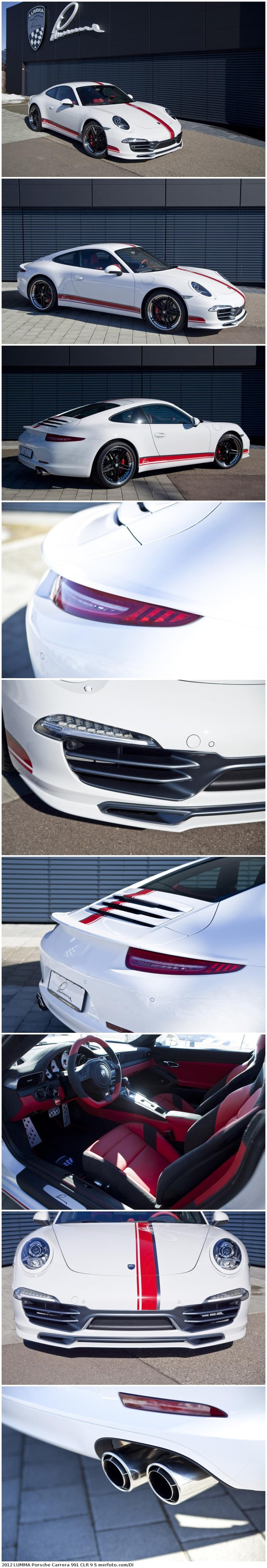 2012 LUMMA Porsche Carrera 991 CLR 9 S- Saw this today minus racing stripe and OMG amazing!!!