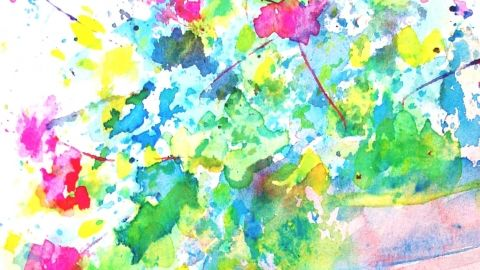 Watercolour painting for Beginners - A step by step guide on how to use Watercolours and make your first painting - $70