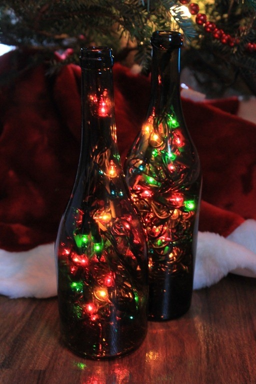 1000 images about holiday recycling ideas on pinterest for Reuse wine bottles ideas