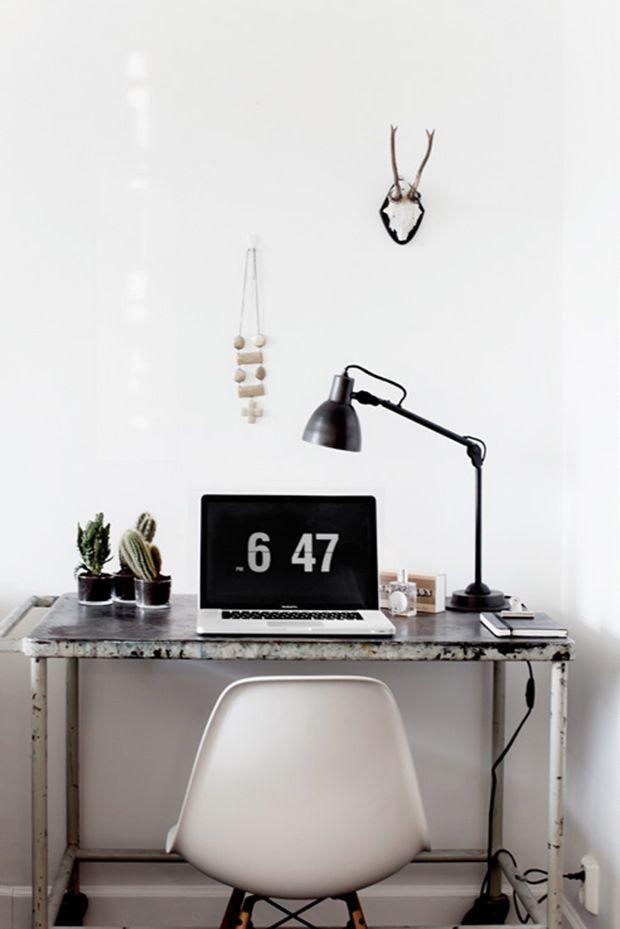 26 idées de déco de bureau pour votre loft