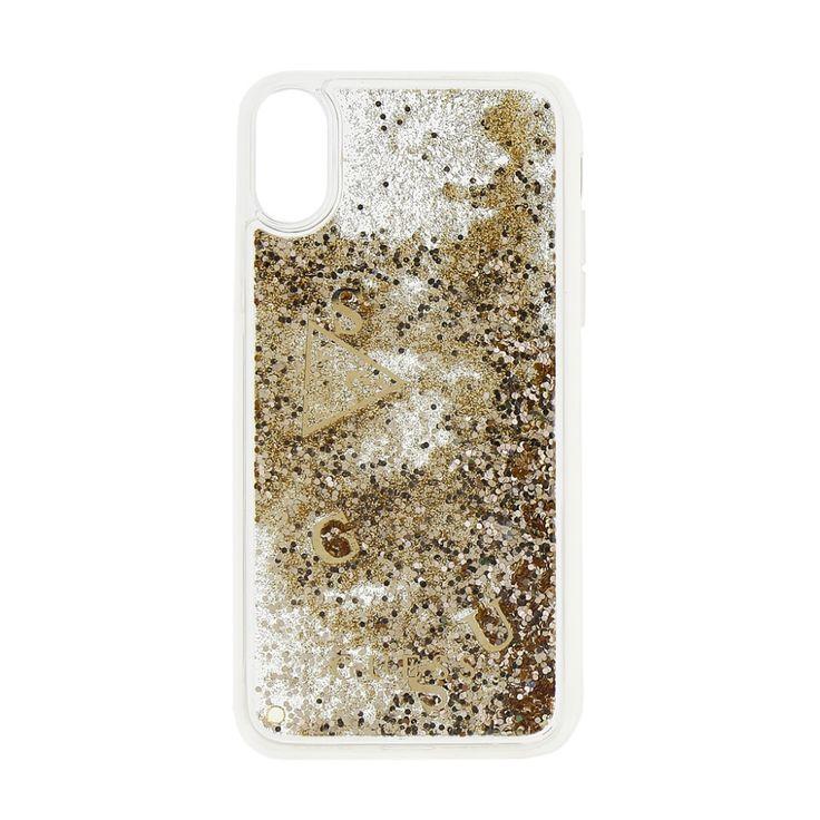 Guess Liquid Glitter iPhone X