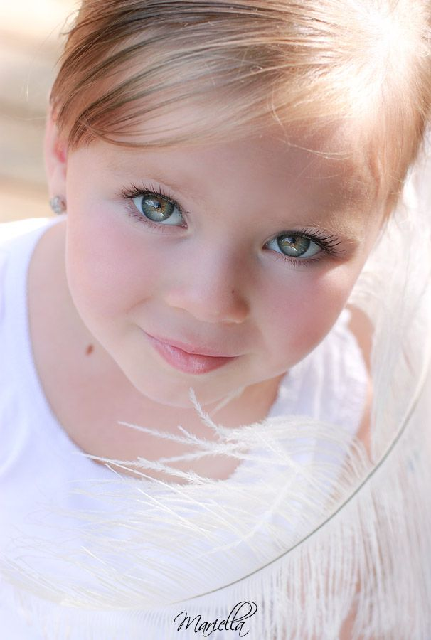 I Want To Someday Have A Beautiful Little Girl With Blue