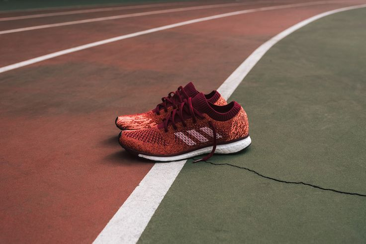 Kith partners with adidas to exclusively launch the latest editions of the adizero Prime BOOST LTD. The adizero is part of a long lineage of record setting adios performance models, having been worn by 7 of the 10 fastest marathon time winners ever. This progressive silhouette features identical tooling to the Adios, which has amassed 86 marathon wins and counting. This all new rendition marries two of Adidas's most cutting edge technologies - BOOST and Primeknit. The combination of both...