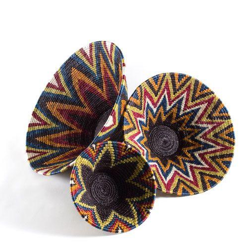 African Decorative Basket - BelAfrique - Your Personal Travel Planner - www.belafrique.co.za