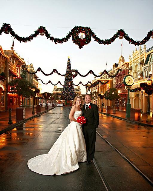 Magic Kingdom Holiday Wedding