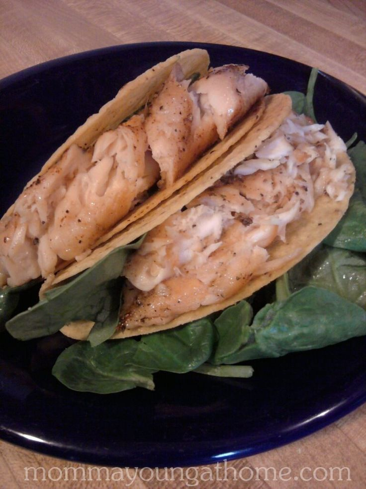 Fish Dinner: Tilapia Fish Tacos