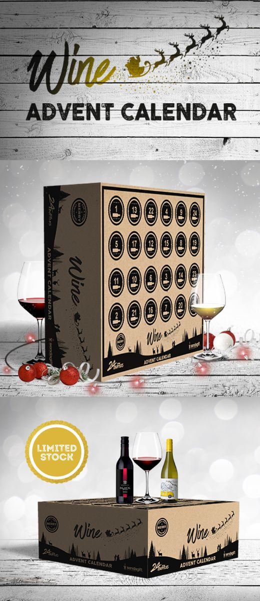 Hands up who wants a Wine Advent Calendar?! Grab one now before they sell out!