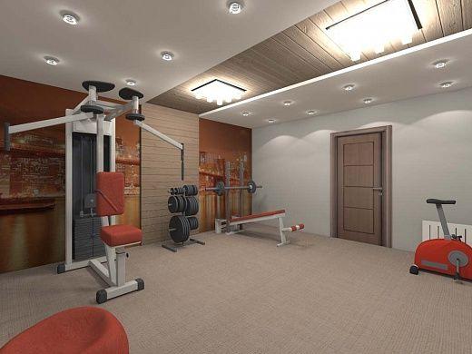 Как оборудовать спортзал в подвале