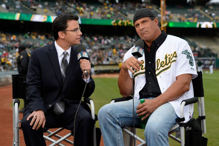 Twitter rant costs Jose Canseco his job as A's TV analyst.     Former A's slugger Jose Canseco has lost his job as an Oakland A's television analyst after his Twitter rant about politicians and sexual misconduct.