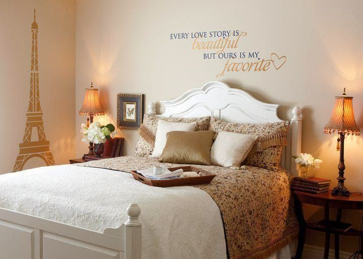 Every love story is beautiful but ours is my favorite - http://decoratingwithdecals.blogspot.com/2014/02/all-about-love-pt-1.html