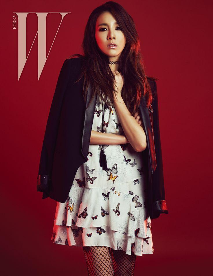 2NE1 Dara and Cheon Dung - W Magazine May Issue '15