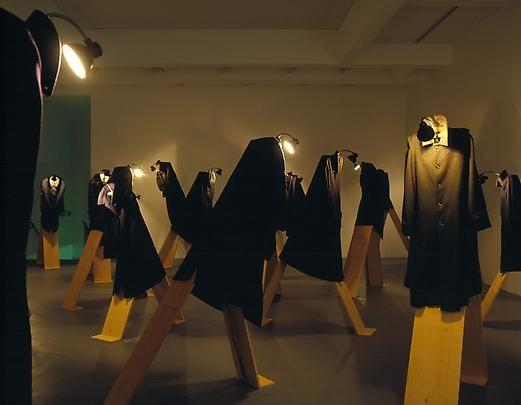 Christian Boltansky, in the Marian Goodman Gallery