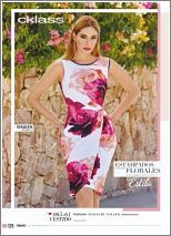 Marca: Cklass USA - Catalogos: #561 - Pagina: 125 - Estilo: 065-61 - Descripcion: Vestido - Cklass FashioLine - Color: Multicolor - Medidas: S,M,L & XL