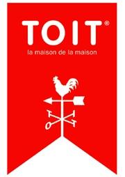 Nom de marque, logo et baseline : créations de Fabrice Praeger pour un magasin de décoration à Bruxelles.