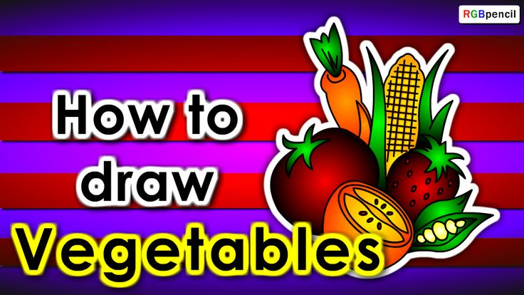 How to draw Vegetables for kids step by step :  http://rgbpencil.com/pages/how-to-draw/kids/786-how-to-draw-vegetables-for-kids-easy-steps/
