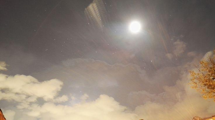 #luna #moon #noche #night #sky #cielo #estrellas #stars