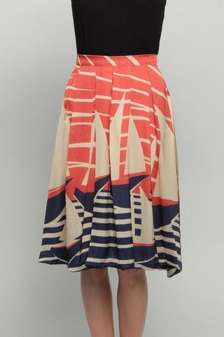 Summer skirt perfect for the lake.//or anywhere :)