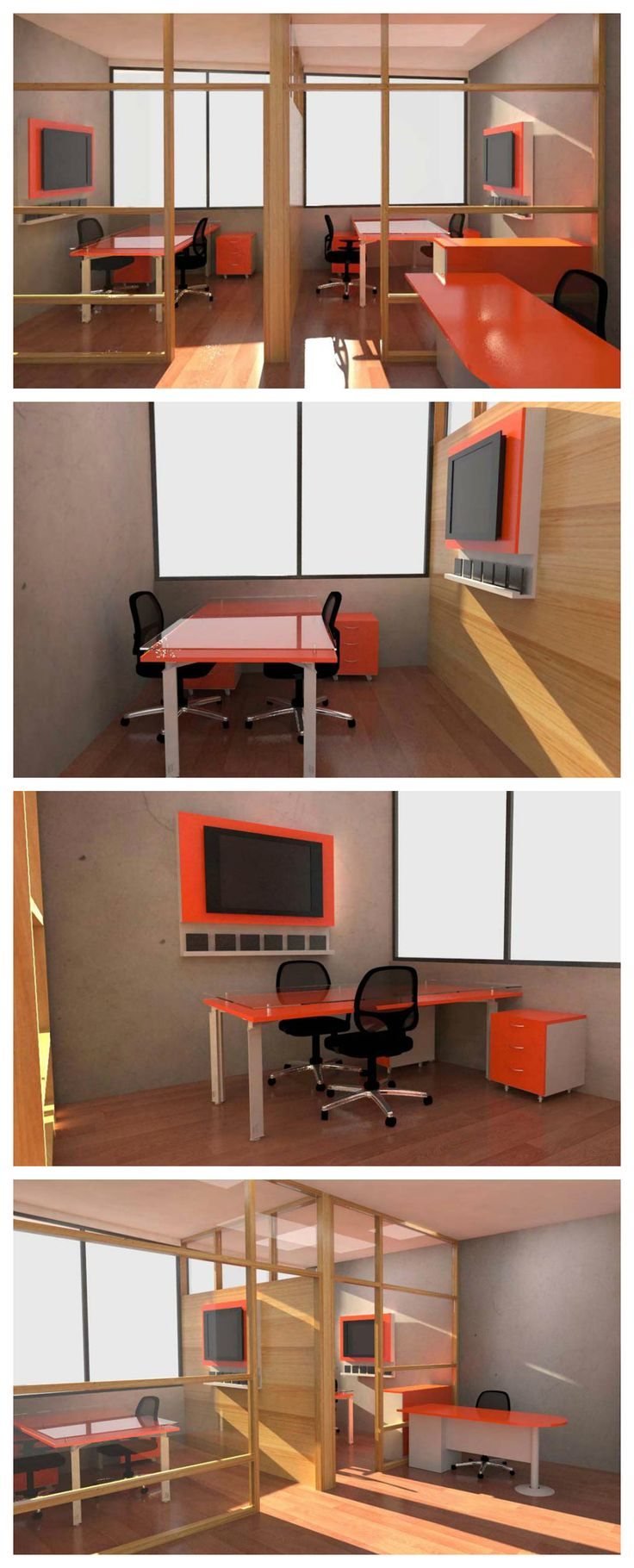 unico office chair. Propuesta De Mobiliario Para Oficinas ASUMIN, Con Estaciones Y Gabinetes En Tonos Naranjos Contrastes Unico Office Chair