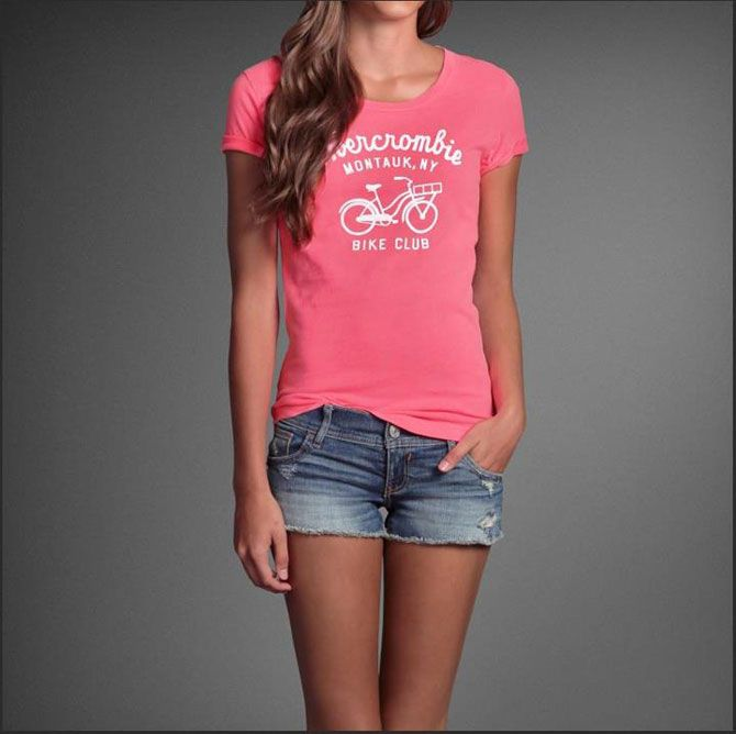 Shirts like these made by Abercrombie & Fitch are a great example of what you can make with our products!