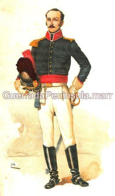 GUERRA PENINSULAR - 1807 A 1814. Bernardo de Sá Nogueira In: História da Cavalaria Portuguesa Colecção particular