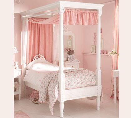 Pink 4 Poster Bed 11 Best Girls Beds Images On Pinterest  Four Poster Beds 34 .