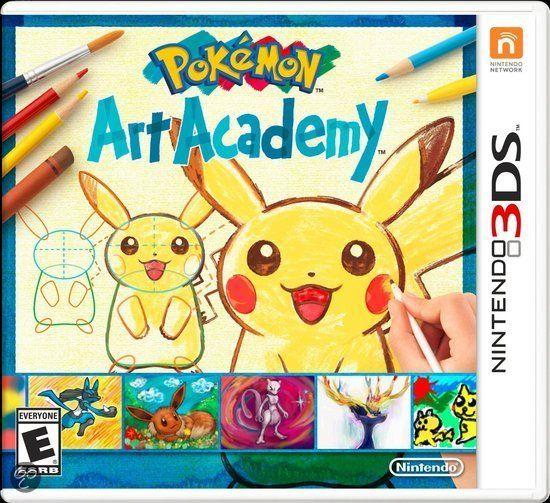 Pokémon, Art Academy  3DS     36,99€ +gratis verzending