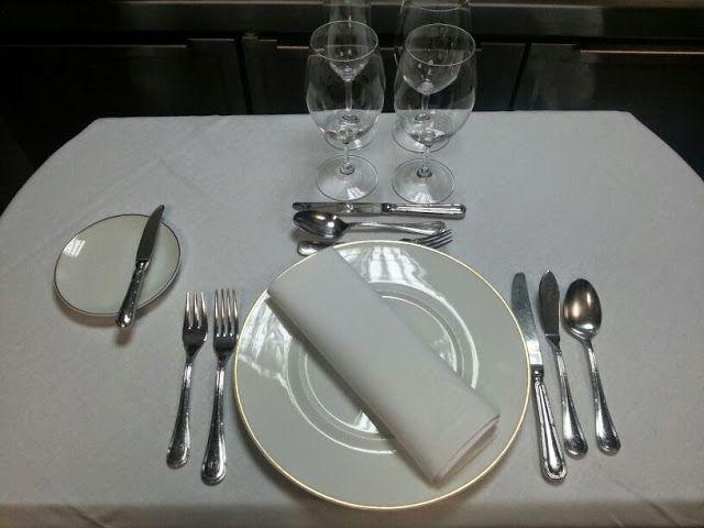 Protocolo: Colocación de los cubiertos en la mesa