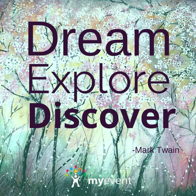 Dream, Explore, Discover! #resolutions #quotes