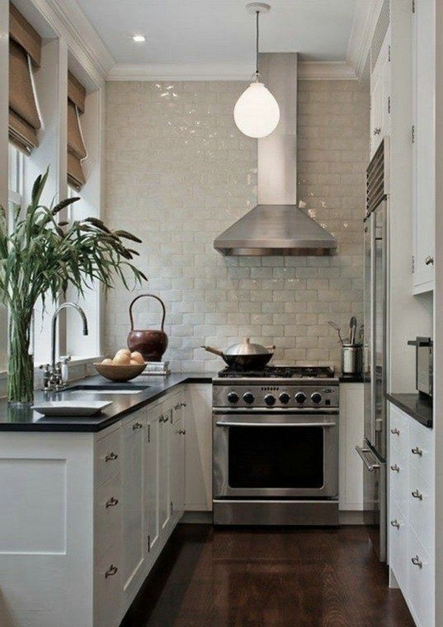 Room Decor Ideas: Small Kitchen Solutions
