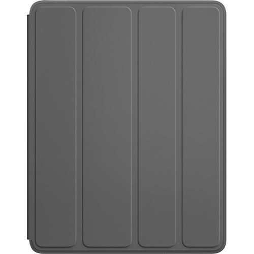 Apple® - Smart Case for Apple® iPad® 2nd-, 3rd- and 4th-Generation - Dark Gray - Larger Front