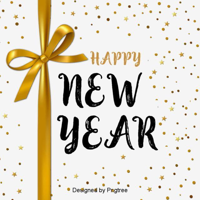 السنة الجديدة 2019 خط انجليزي زخرفة الخط الذهبي أسود السنة الجديدة تصميم الخط In 2020 Decorative Font English Fonts Fonts Design