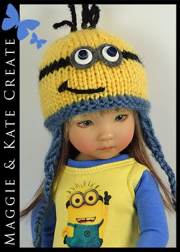 "* MINION * Outfit for Little Darlings Effner 13"" by Maggie & Kate Create"