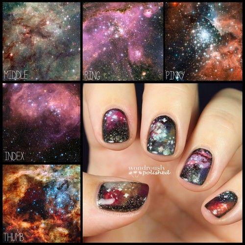 wondrouslypolished: The inspiration and the outcome -