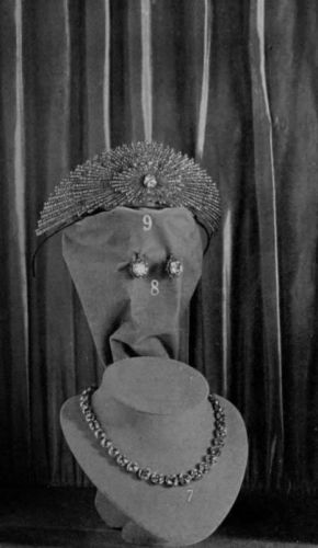 the Youssupov Jewellery on display in 1914 year. Wedding presents to Princess Irina.