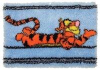 Anchor Disney Tigger Stripes Latch Hook Rug Kit DPPF900 - SewingCafe