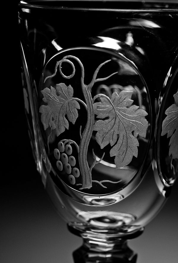 Russo Granduca Nicola Nikolaevich Antique Wine Glass - Antique Jewelry | Anelli d'epoca | uova Fabergé