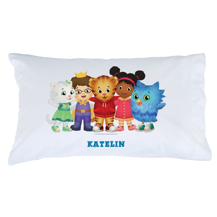 Buy Daniel Tiger's Neighborhood Group Pillowcase at the PBS KIDS Shop.  (have friends sign the pillowcase as a guest book!)